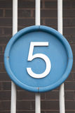 Number Five royalty free stock photo