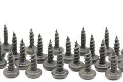 Number of fixings screws Stock Image