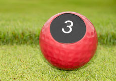 Number of hole in golf Royalty Free Stock Images