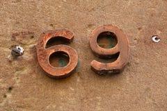 Number 69 Stock Photos