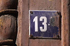 Number 13 Stock Images