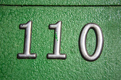 Number 101 Royalty Free Stock Photography