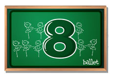 Number 8 Royalty Free Stock Image