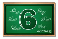 Number 6 Royalty Free Stock Images