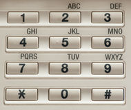 Number keypad Stock Images