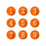 Number Logo Vector. Number Icon vector illustration