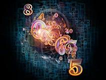 Number Nebulae Stock Photography