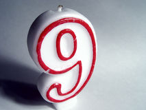 Number Nine stock image