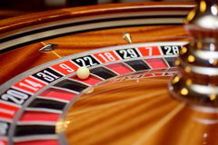 Number nine roulette Stock Photos