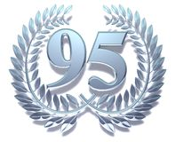 Number ninety-five Royalty Free Stock Image