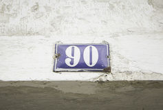 Number ninety home Stock Images