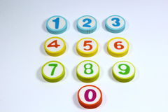 Number. S in math and s used in everyday life Stock Images