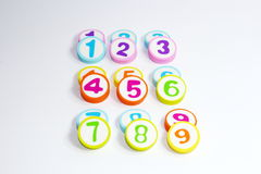 Number. S in math and s used in everyday life Royalty Free Stock Photos