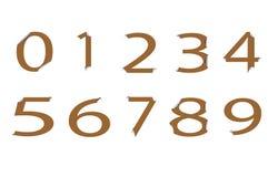Number royalty free illustration