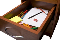 Number of office tools. In the toolbox Stock Images