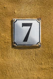 Number 7 Royalty Free Stock Photos