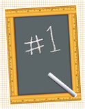 Number One! Stock Photography