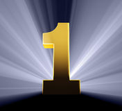 Number One! Stock Images