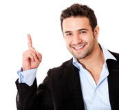 Number one business man Stock Photography