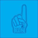 Number one fan hand blueprint