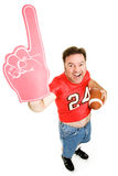 Number One Football Fan Stock Photo