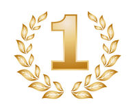 Number one Medal Royalty Free Stock Photo