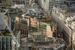 Number One, Poultry, aerial view Royalty Free Stock Photos