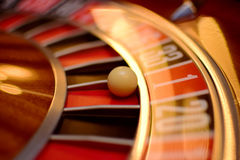 Number one roulette Royalty Free Stock Images