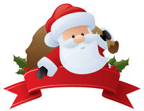 Number One Santa Royalty Free Stock Photography