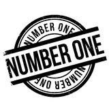 Number one stamp Royalty Free Stock Images