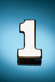 Number one symbol Royalty Free Stock Photo