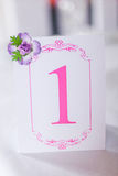 Number One Table Stock Photos
