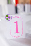 Number One Table Stock Images