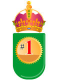 Number one worldwide Royalty Free Stock Images