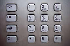 Number pad Stock Images
