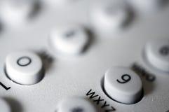 Number pad. Closeup Stock Photo