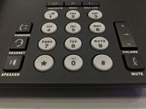 Number pad Royalty Free Stock Images