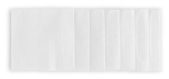 Number of paper napkins Royalty Free Stock Images