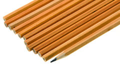 A number of pencils Royalty Free Stock Photo