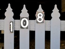 The Number 108 Royalty Free Stock Images