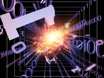Number Processing Stock Images