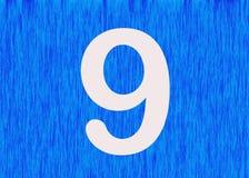 Number 9 as divine symbol Stock Photos
