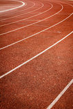 Number on running track Royalty Free Stock Photos