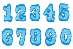 Number set Stock Photos