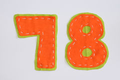 Number set Stock Image