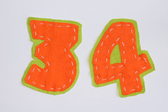 Number set Royalty Free Stock Images