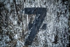 Number Seven Stock Images