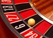 Number six roulette Royalty Free Stock Image