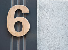 Number six Stock Images