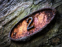 Number 2, Street Number Stock Image